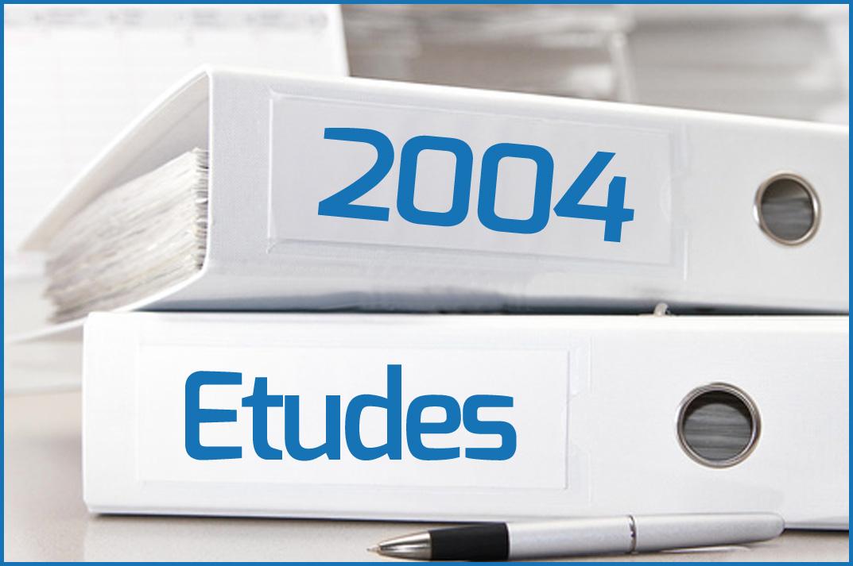 Etudes 2004
