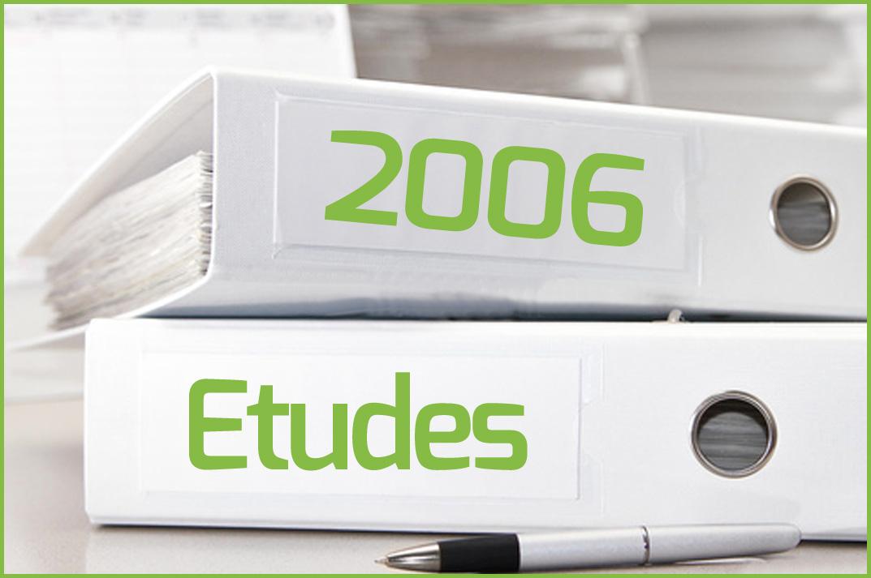 Etudes 2006