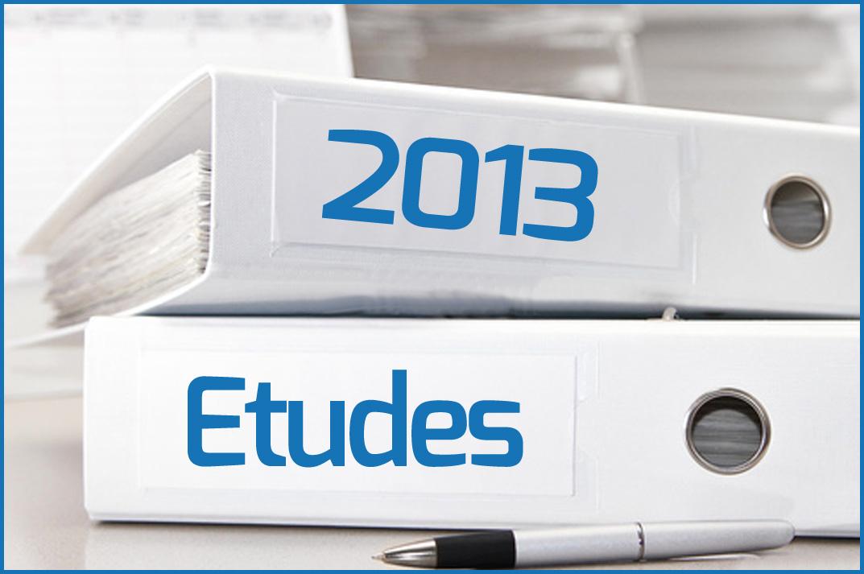 Etudes 2013