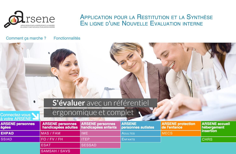 Arsene : évaluation interne en ligne