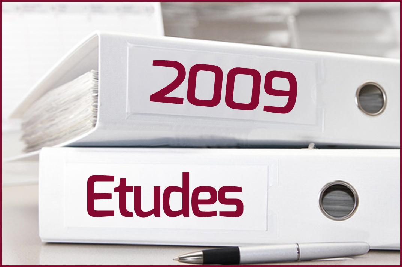 Etudes 2009