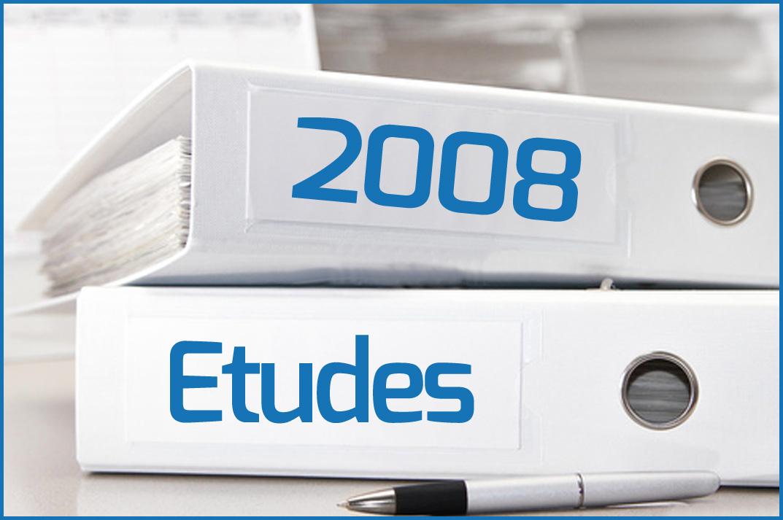 Etudes 2008