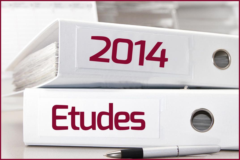 Etudes 2014