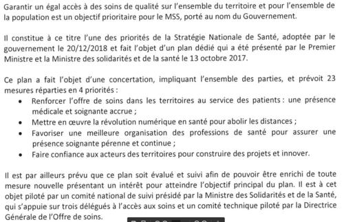 Une charte pour lutter contre les déserts médicaux !