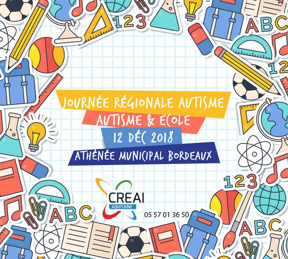 Autisme & Ecole – 12 décembre 2018 à Bordeaux
