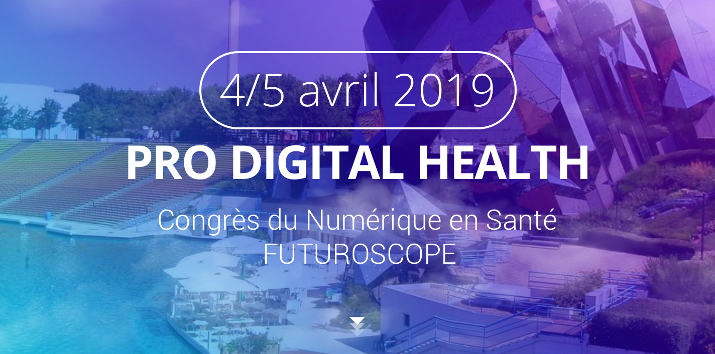 Congrès du Numérique en Santé – 4 & 5 avril 2019 à Poitiers