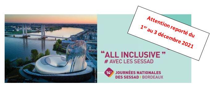 """14èmes journées nationales des SESSAD ALL INCLUSIVE""""      #AVEC LES SESSAD"""